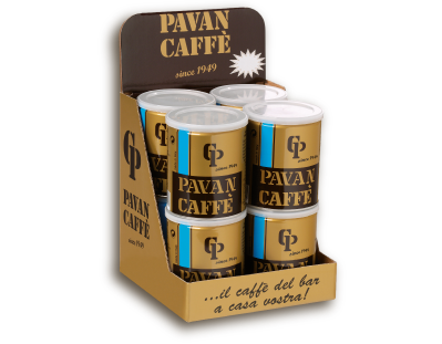 Pavan Caffè   Linea Azzurra - Linea Argento - Linea Rossa